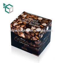 Small Wholesale Paper Packaging Custom Made Coffee Boxes